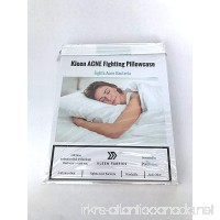 Kleen Fabrics Acne Fighting Antimicrobial Pillowcase with PurThread Silver Technology - B01N1ZCJ63
