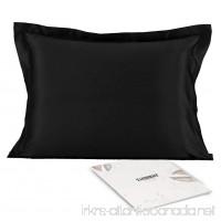 Satin Silk Pillowcase Pillow Covers - YANIBEST Satin Silk Pillowcase For Facial Beauty Hair and Health Care with Envelope Closure Faux Mulberry Silk Fabric Pillow Shams Queen Standard - B074K29VVH