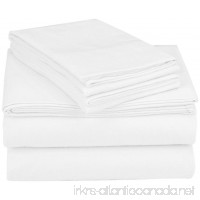 Coyuchi Cloud Brushed Organic Flannel Sheet Set  Queen  Alpine White - B016Z71ZZA