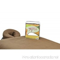 DevLon NorthWest Massage Table Flannel Sheets 3 PC Cotton Sheet Set Fitted  Flat & Face (BROWN) - B07FK3BSSY