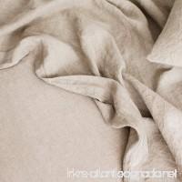 Merryfeel Luxurious 100% Pure French Linen Flat Sheet - Full - B077SHHRMN