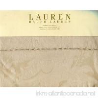 Ralph Lauren Verdonnet Jacquard Camel Queen Flat Sheet - B00C69MKUG