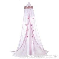 Accent Plus Mesh Girls  Mosquito Pink Princess Bed Canopy - B0744WFW5P