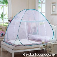 Adarl Indoor Portable Folding Bedroom Sleeping Mosquito Net Tent Canopy Attached Bottom With Single Zipper Door 39.37 74.8 43.3 B - B06ZZ6XJ56