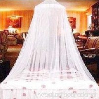 Guerbrilla Mosquito net for Twin Queen and King Size Bed Large Mosquito Netting Curtains Canopy for Bed Round Insect Fly Screen Insect Protection Repellent Shield Full Hanging Kit (white) - B073VQ4JX3