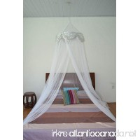 OctoRose Princess Bed Canopy Mosquito Net for Bed  Dressing Room  Out Door Events (White) - B00YZA6RY4