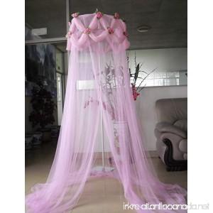 Pink Pointed Ruffle Princess Rose Canopy By SID - B0058UV2LI