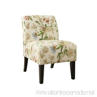 ACME Ollano Floral Fabric Accent Chair - B01H3NYTO4