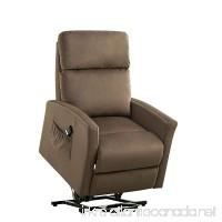 BONZY Lift Chair Modern Power Lift Recliner - Chocolate - B079QTX18Y