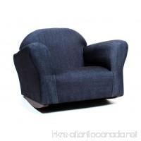 KEET Bubble Rocking Kid's Chair Denim - B00FPJPGFU