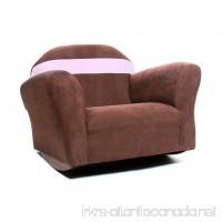 KEET Bubble Rocking Microsuede Kid's Chair  Sweet Brown - B00FPJPQ1Y