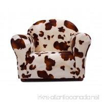 Keet Roundy Faux Fur Children's Chair  Pony - B01LYIH543