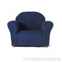 Keet Roundy Microsuede Children's Chair  Navy - B01M13SZOD