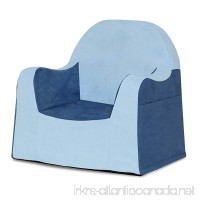 P'Kolino Little Reader Chair Light Blue - B00TFXFSTQ
