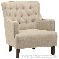Stone & Beam Decatur Modern Tufted Accent Chair 32 W Chair Oatmeal - B071W5V75T