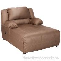 Ashley Furniture Signature Design - Hogan Contemporary Press Back Chaise - Tan - B0042EJ1P0