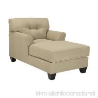 Benchcraft - Laryn Contemporary Living Room Sofa Chaise - Polyester Upholstered - Khaki - B019J4HN16