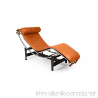 Kardiel Gravity Chaise Lounge Caramel Aniline Leather - B00646GQRK