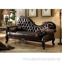 Meridian Furniture Barcelona Leather Chaise - B01FX7OU3C
