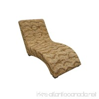ORE International AHB4252L Modern Chaise  Leopard - B00EWCACQO