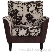 Parker Lane uch-rex-bna-uda Lounge Chair  Two Tone Cow Print - B074P82P58
