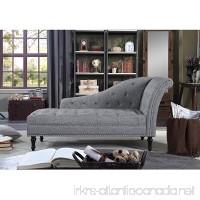 Rosevera D8-3 Deedee Chaise Lounge  Grey - B07FDP6PG1