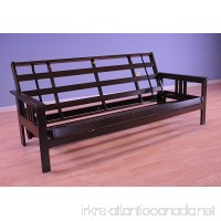 Full Size Monterey Wood Futon Frame Only  Mattress NOT included | Espresso - B019C9PYCS