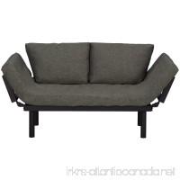 Sofa Bed Lounger Futon Sofa Sleeper Loveseat Convertible With Adjustable Armrests - B07F5XLC77