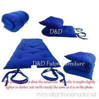 Brand New Royal Blue Traditional Japanese Floor Futon Mattresses Foldable Cushion Mats Yoga Meditaion. - B003VQU7Y4