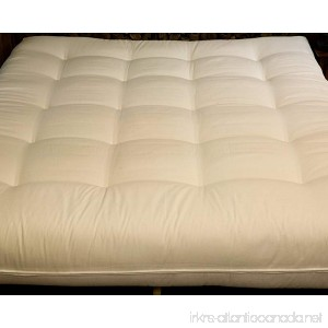 Cotton Cloud Natural Beds and Furniture All Natural Cotton Twin Size Futon - B00LU0ETQ0