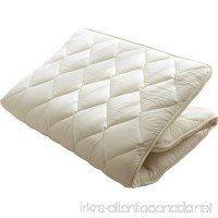 EMOOR Made in Japan 50% French Wool and 50% Polyester  Japanese Futon Mattress LEAVEL  Twin-long Size - B0065FW69C
