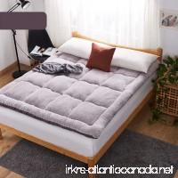 Futon mattress topper Tatami floor mat Dormitory folding mat Japanese bed-B 180x200cm(71x79inch) - B07C9YJNYF