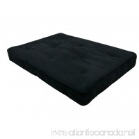 Home Life 8-Inch Independently-Pocket Coil Premium Futon Mattress Full Size - Black - B00KM6RSHU