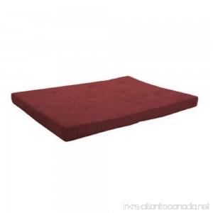 Mainstays 6 Futon Mattress-Wipe clean with a damp cloth (Ruby Red) - B071YVTVL6