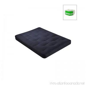Sycamore Futon Mattress Size: Full Fabric: Cotton - Black - B003XJ9F7Y