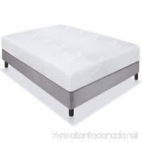 "Best Choice Products 10"" Dual Layered Memory Foam Mattress Queen- CertiPUR-US Certified Foam - B01HFT4SL0"