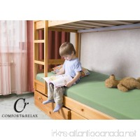Comfort & Relax Memory Foam Mattress 5 Inch Twin for Bunk Bed Trundle Bed Day Bed Light Green - B01N9QLPVA