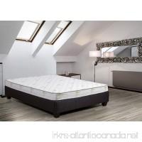 Continental Sleep High Density Poly Foam Flipable Mattress with Aloe Vera Cover  Twin Size - B072868DZ4