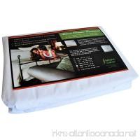 Natural Comfort Anti-Bedbug Waterproof Box Spring/Mattress Encasement 9-Inch Queen - B00DGP1DKM