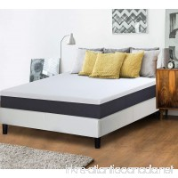 Olee Sleep 10 in Eos Memory Foam Mattress Full 10FM05F - B073VKPM2W