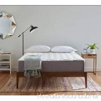 Serenia Sleep 12 Quilted Sculpted Gel Memory Foam Mattress Queen - B01G3L90LY