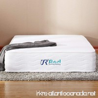 Sunrising Bedding 8 inch Natural Latex Mattress Queen Size Hybrid Independently Encased Coils Innerspring Mattress  Not Sagging and Sink  120 Day Free Return - B01I1573K0
