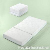 Zinus Gel Memory Foam 5 Inch Tri-Fold Comfort Portable Folding Mattress or Floor Mat Twin - B079P5134M