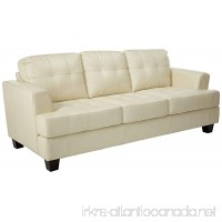 Coaster Samuel Transitional Cream Sofa - B00408LKQG