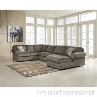 Flash Furniture Signature Design by Ashley Jessa Place Sectional in Dune Fabric - B00J5FSPVC