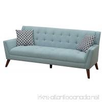 Furniture World Mid Century Sofa Turquoise - B0756YNQFX