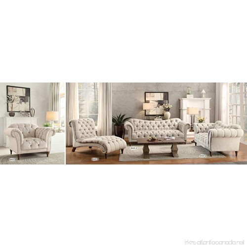 Homelegance St Claire Traditional Style Loveseat With