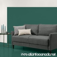 Zinus Classic Upholstered 71in Sofa/Living Room Couch Grey with Hint of Green - B079Q238ZM