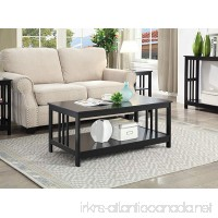 Convenience Concepts Mission Coffee Table  Black - B01N9JTGS0
