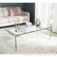 Safavieh Home Collection Willow Clear Coffee Table - B00UAA1YQO